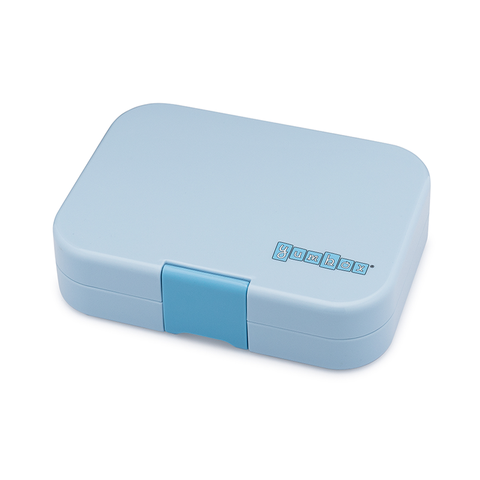 Yumbox Outer Box Only: Luna Blue Panino (4 Compartments)