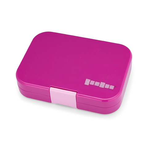 Yumbox Outer Box Only: Malibu Purple Original (6 Compartments)