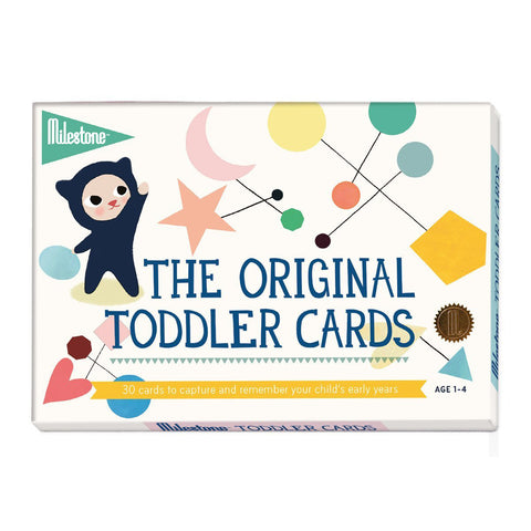 Milestone Toddler/Junior Cards