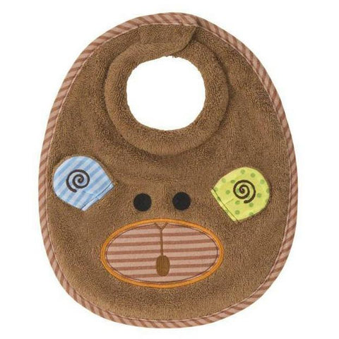 Zoocchini Baby Bib: Max the Monkey