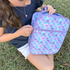 MontiiCo Insulated Lunch Bag (Ice Pack incl.) - MERMAID