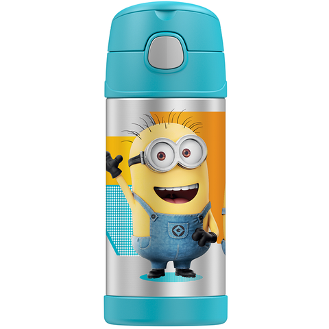 Thermos 12oz FUNtainer Straw Bottle: Despicable Me 3 Minions