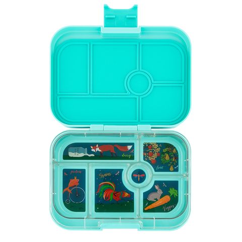Yumbox: Mystic Aqua (6 Compartments)