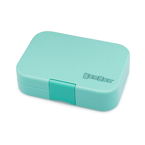 Yumbox Outer Box Only: Mystic Aqua Panino (4 Compartments)