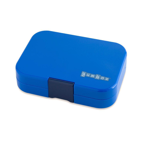 Yumbox Outer Box Only: Neptune Blue Panino (4 Compartments)
