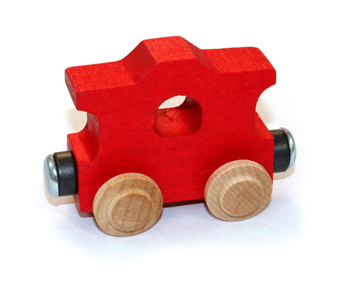 Maple Landmark CABOOSE NameTrain (Red) | CuteKidStuff.com