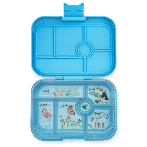 Yumbox: Nevis Blue (6 Compartments)