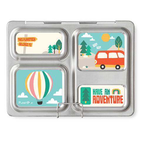 Magnet Set for PlanetBox Launch: Adventure