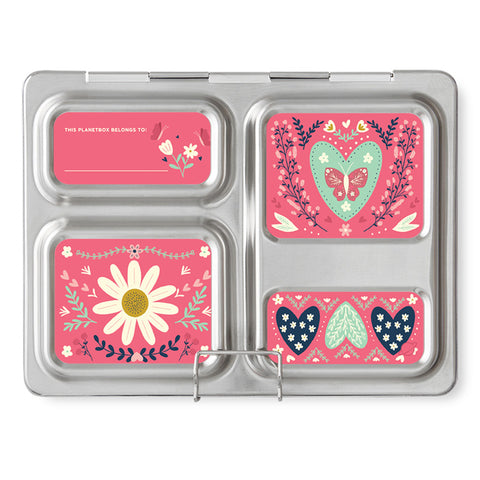 Magnet Set for PlanetBox Launch: Floral