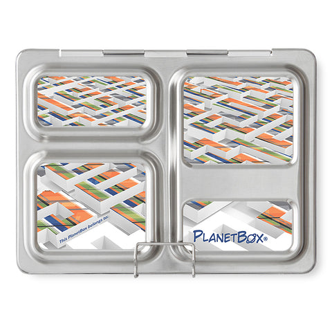 Magnet Set for PlanetBox Launch: Rad Plaid