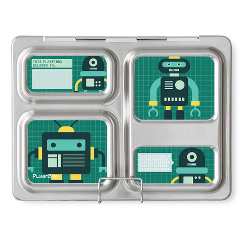 Magnet Set for PlanetBox Launch: Robo Friends
