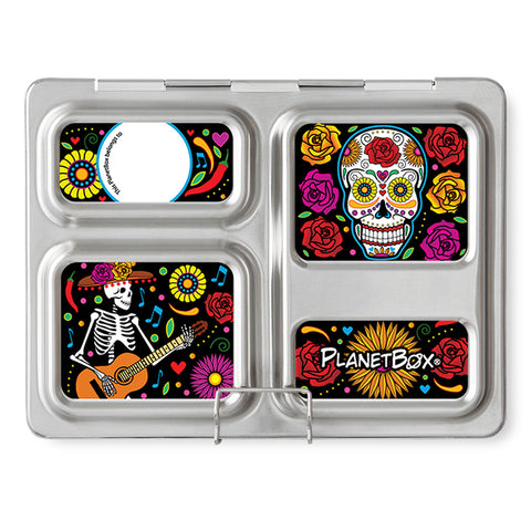 Magnet Set for PlanetBox Launch: Skeletons
