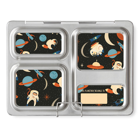 Magnet Set for PlanetBox Launch: Space Animals