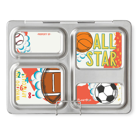 Magnet Set for PlanetBox Launch: Sports