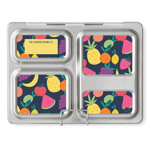Magnet Set for PlanetBox Launch: Tutti Frutti