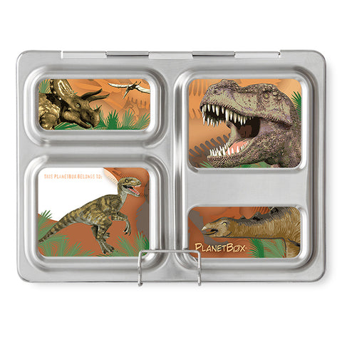Magnet Set for PlanetBox Launch: Velociraptors