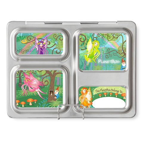 Magnet Set for PlanetBox Launch: Woodland Fairies