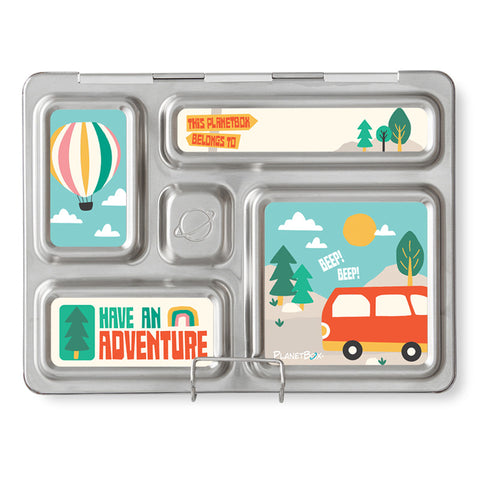 Magnet Set for PlanetBox Rover: Adventure