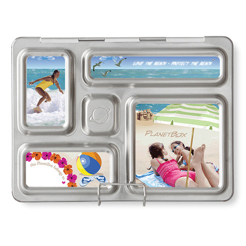 Magnet Set for PlanetBox Rover: Beach