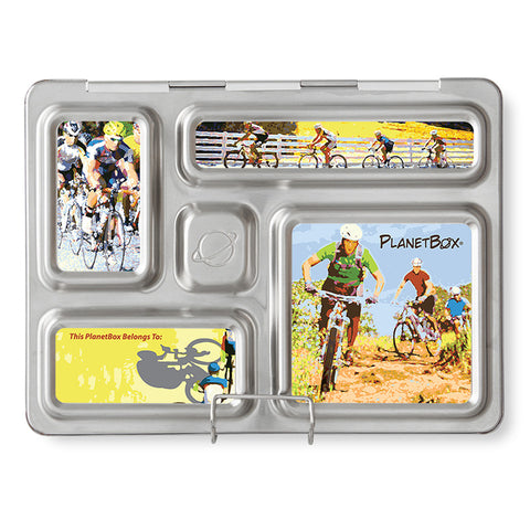 Magnet Set for PlanetBox Rover: Bicycles