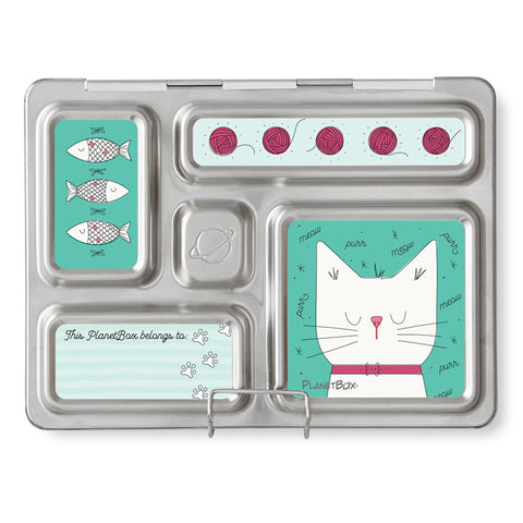 Magnet Set for PlanetBox Rover: Cats