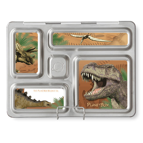 Magnet Set for PlanetBox Rover: Dinosaurs