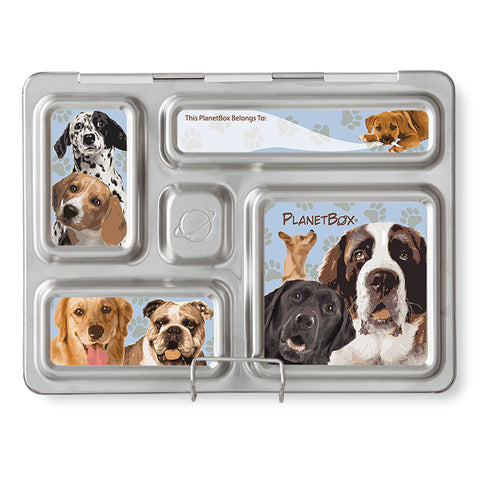 Magnet Set for PlanetBox Rover: Doggies