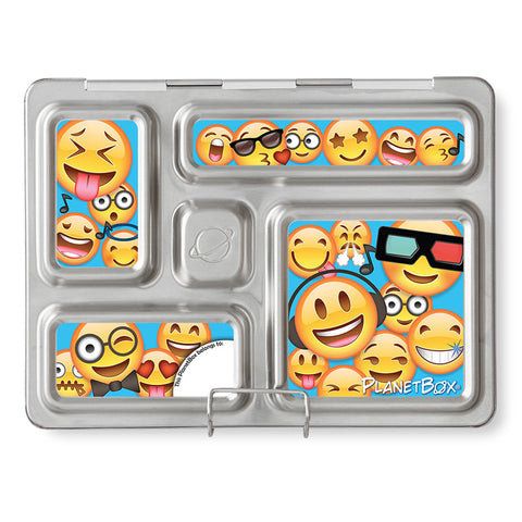 Magnet Set for PlanetBox Rover: Emoticons
