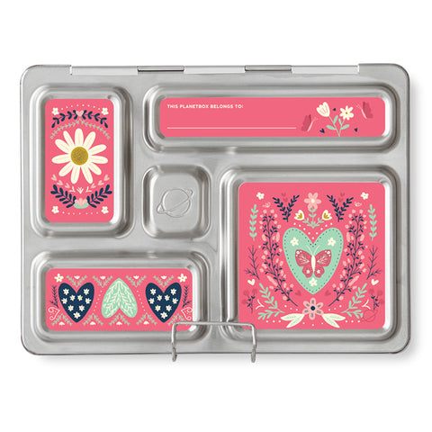 Magnet Set for PlanetBox Rover: Floral