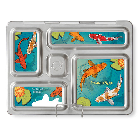 Magnet Set for PlanetBox Rover: Koi Pond