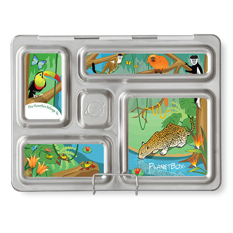 Magnet Set for PlanetBox Rover: Rainforest