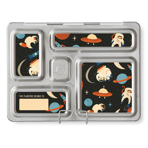 Magnet Set for PlanetBox Rover: Space Animals