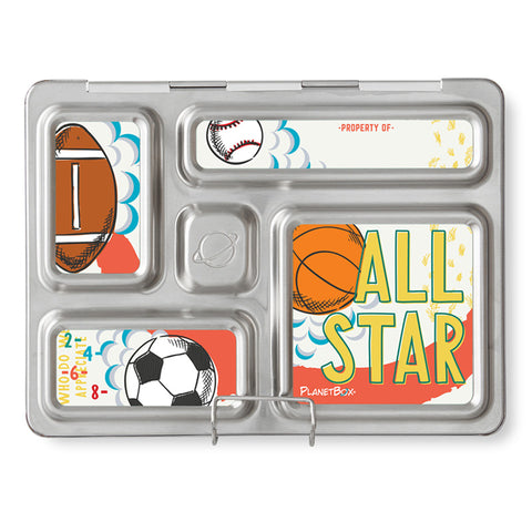 Magnet Set for PlanetBox Rover: Sports