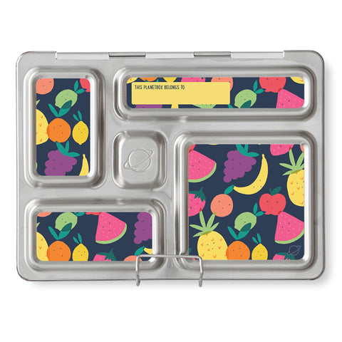 Magnet Set for PlanetBox Rover: Tutti Frutti