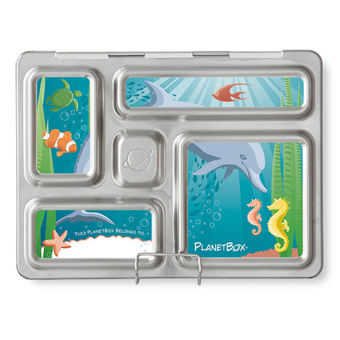 Magnet Set for PlanetBox Rover: Under the Sea