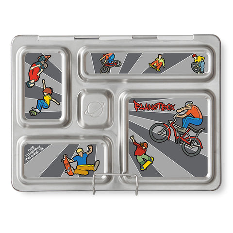 Magnet Set for PlanetBox Rover: Wheelies