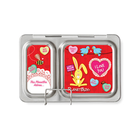 Magnet Set for PlanetBox Shuttle: Love Bug
