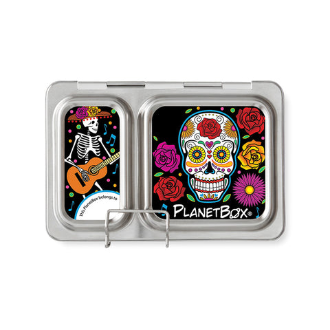 Magnet Set for PlanetBox Shuttle: Sugar Skulls