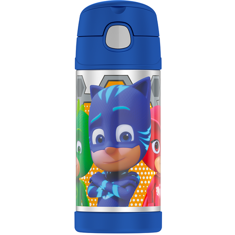 Thermos 12oz FUNtainer Straw Bottle: PJ Masks