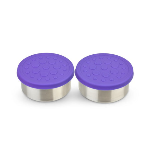 LunchBots 4.5 oz Dips (2-Pack): Purple