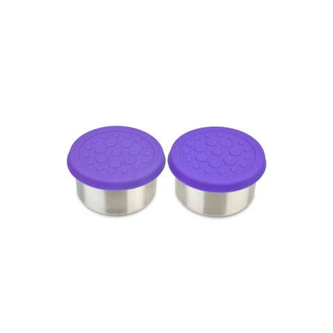 LunchBots 2.5oz Dips (2-Pack): Purple