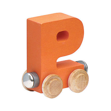 "Maple Landmark Letter ""P"" NameTrain 