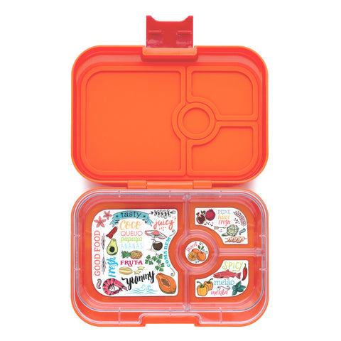 Yumbox Panino: Papaya Orange (4 Compartments)