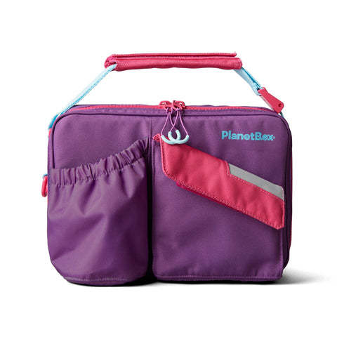 PlanetBox Insulated Carry Bag for Rover or Launch: Grape