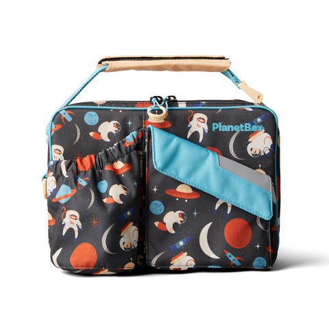 PlanetBox Insulated Carry Bag for Rover or Launch: Space Animals