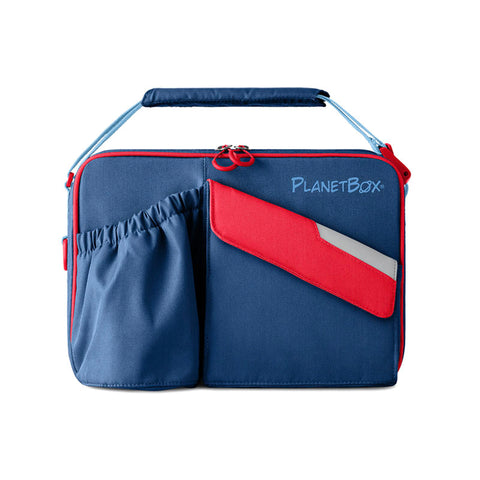 PlanetBox Insulated Carry Bag for Rover or Launch: Berry