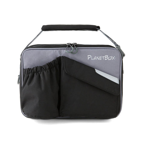 PlanetBox Insulated Carry Bag for Rover or Launch: Black Pearl