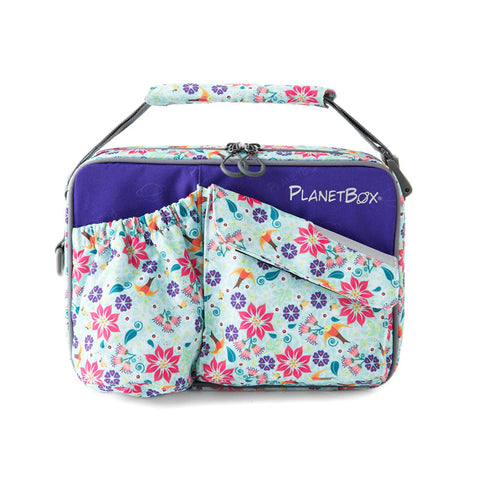 PlanetBox Insulated Carry Bag for Rover or Launch: Botanical