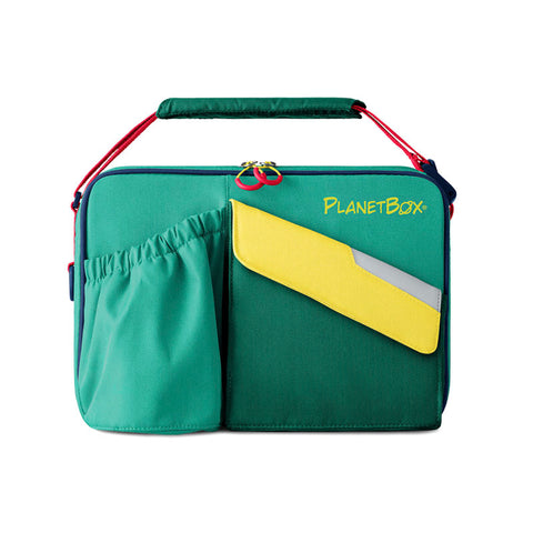 PlanetBox Insulated Carry Bag for Rover or Launch: Citrus