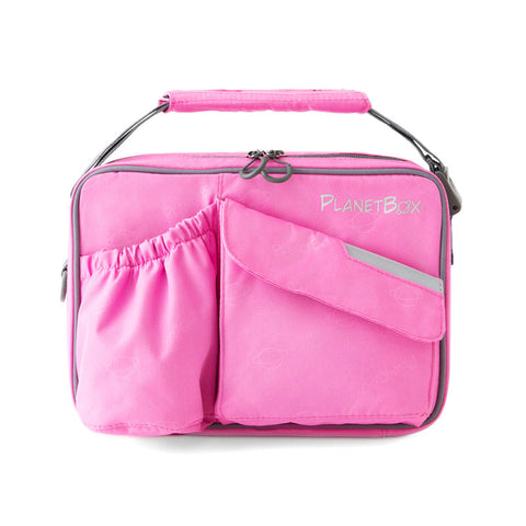 PlanetBox Insulated Carry Bag for Rover or Launch: Perfectly Pink